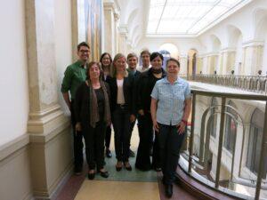 von links nach rechts: Fabian, Elif, Emilie, Karin, Johannes, Hagen, Ina, Viola