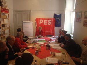 Gesine Schwan mit SPE Aktivisten